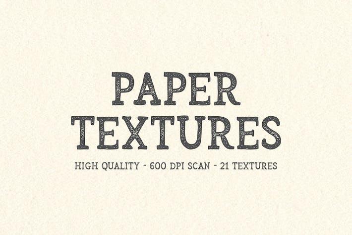 21 Texturas Papel