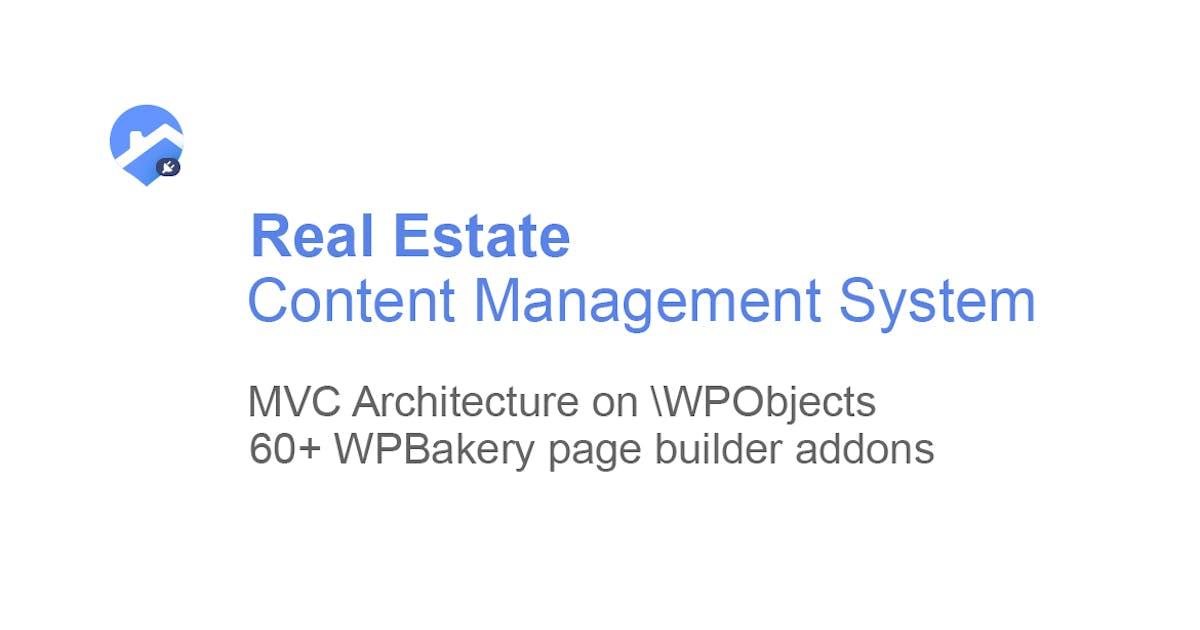 Download Real Estate plugin for WordPress by torbara