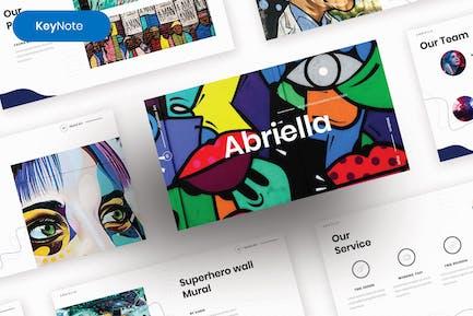 Abriella – Creative Business Keynote Template