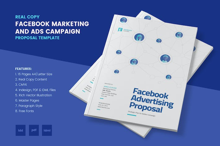 Advertising proposal templates facebook marketing ads proposal facebook marketing ads proposal by afahmy on envato elements flashek Choice Image