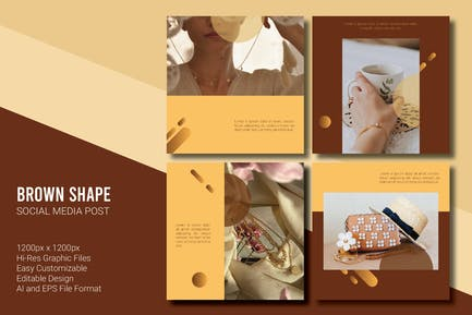 Brown Shape