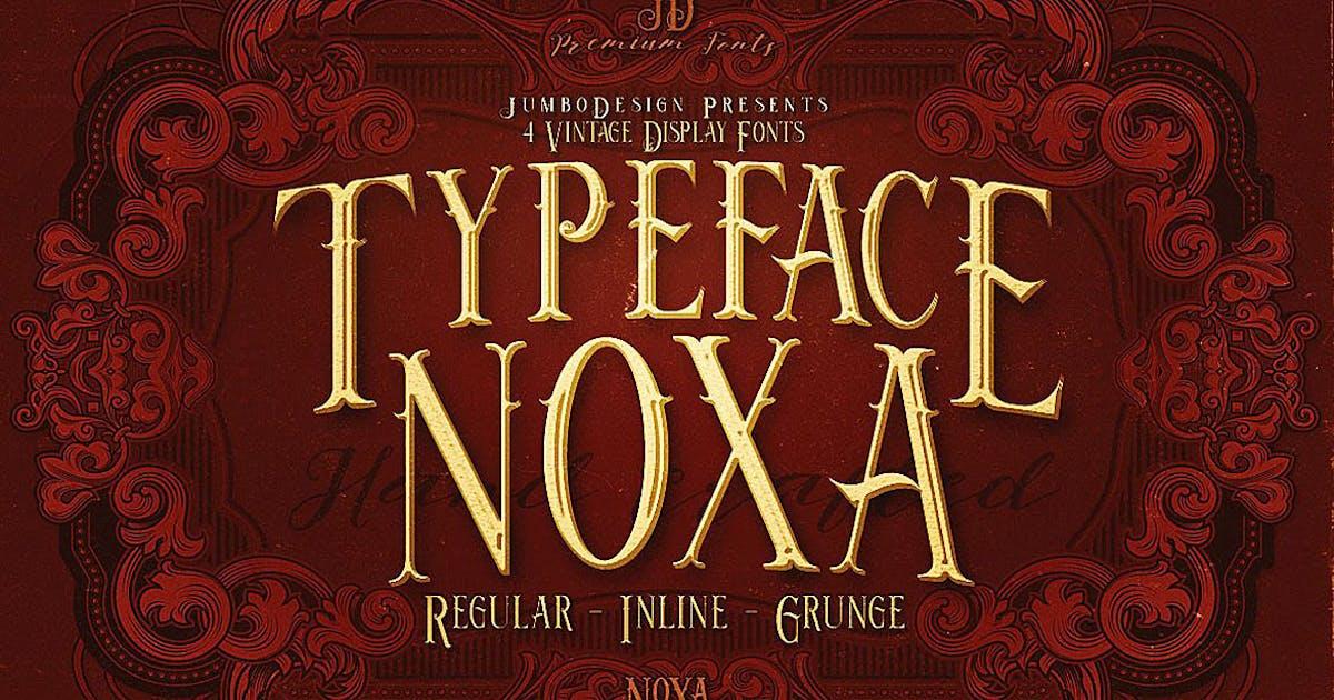 Download Noxa - Display Font by cruzine