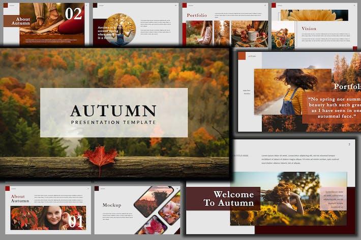Thumbnail for Autumn Beautiful Creative Google Slides