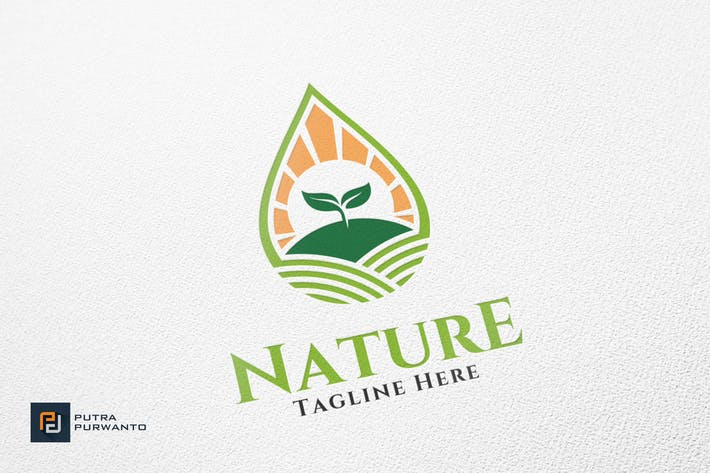Thumbnail for Nature / Farm - Logo Template