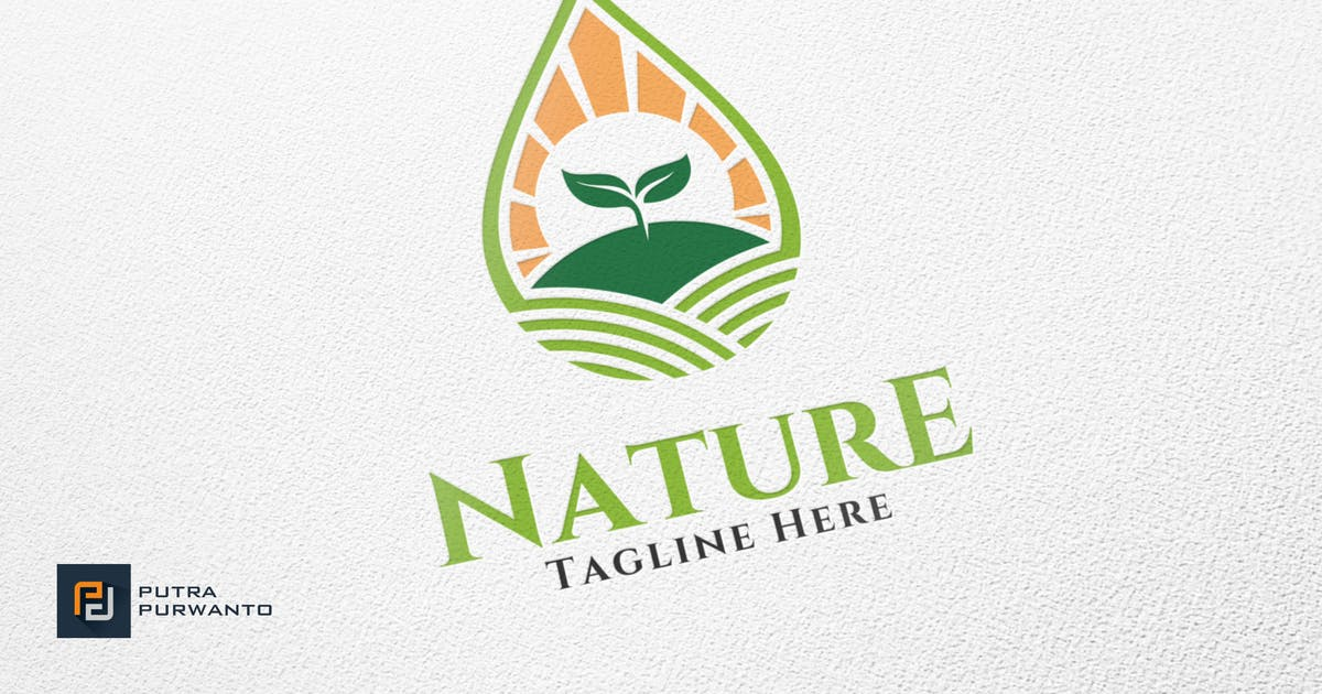 Download Nature / Farm - Logo Template by putra_purwanto
