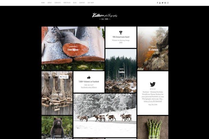 Thumbnail for Killeen — Porfolio Contemporáneo Tema de WordPress