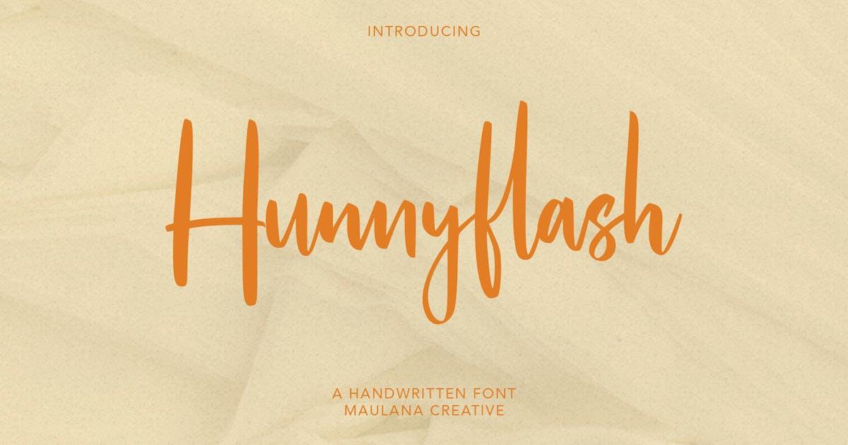 Download Hunnyflash Handwritten Font by maulanacreative