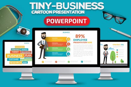 Tiny Business Powerpoint Present