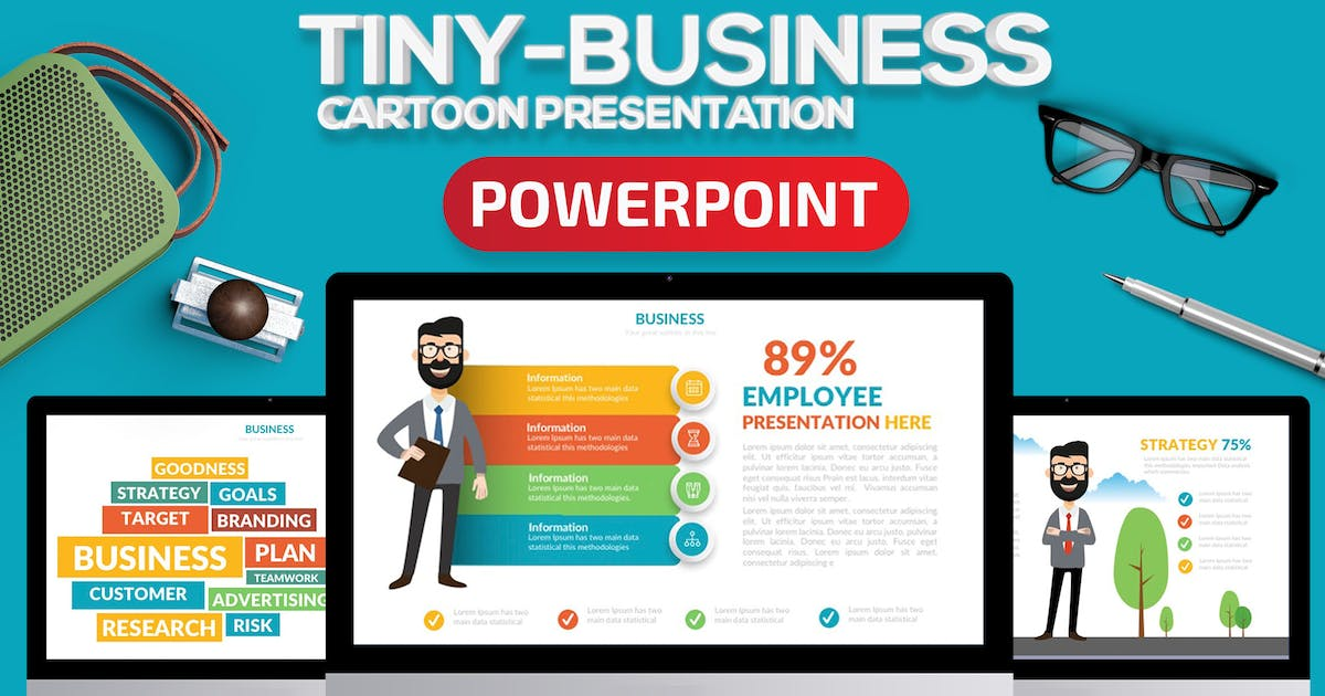 Download Tiny Business Powerpoint Present by mamanamsai