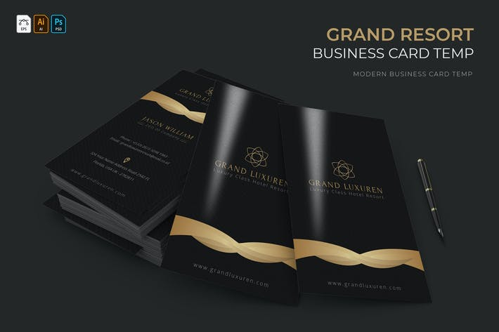 Thumbnail for Grand Resort | Business Card