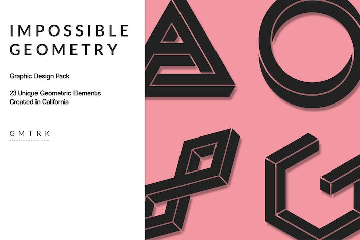 Thumbnail for Geometric Design Kit - Impossible Geometry
