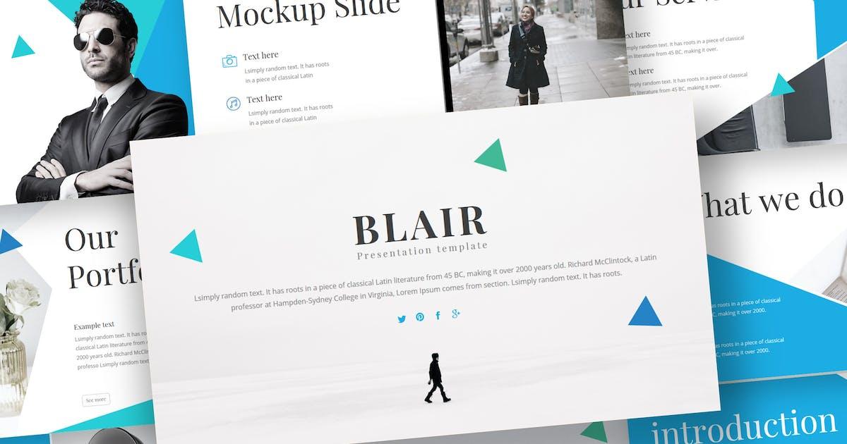 Download Blair - Keynote Template by inspirasign