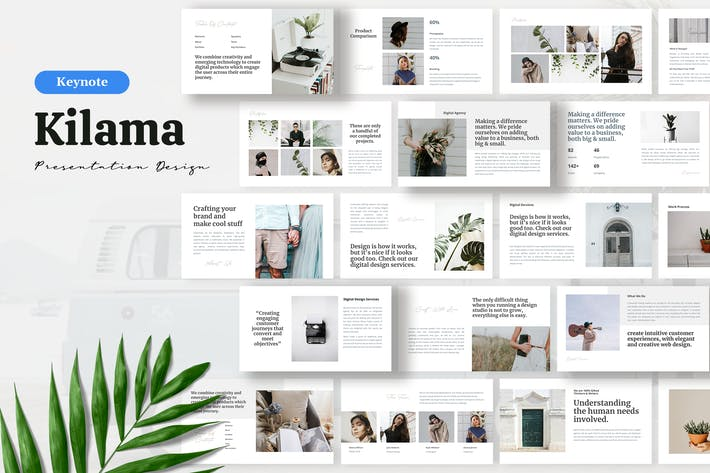 Thumbnail for Килама II - Keynote Шаблон представления