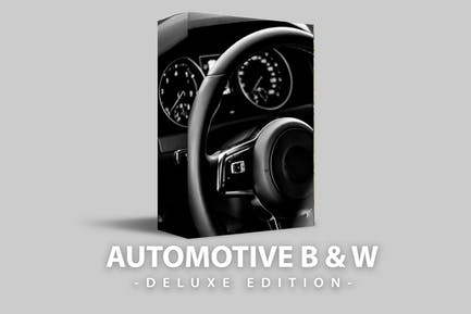 Automotive B & W Deluxe Edition for mobile and PC