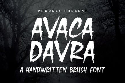 DS Avaca Davra - Police de brosse