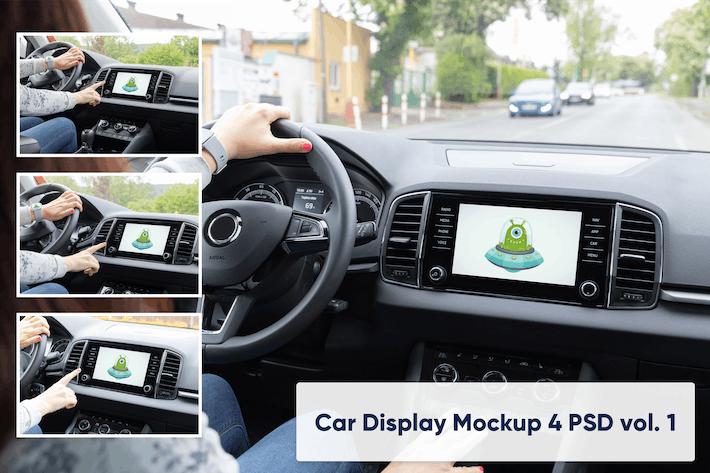 Thumbnail for Car Display Vol. 1 - 4 PSD Mockups
