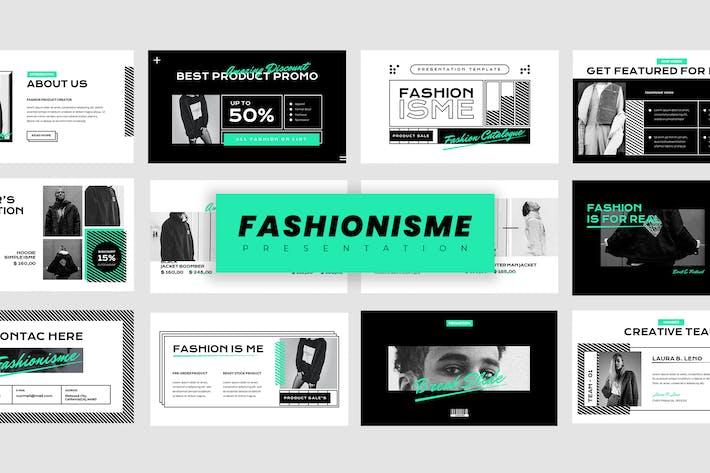 Thumbnail for Fashionisme - Презентация с Keynote репрезентацией