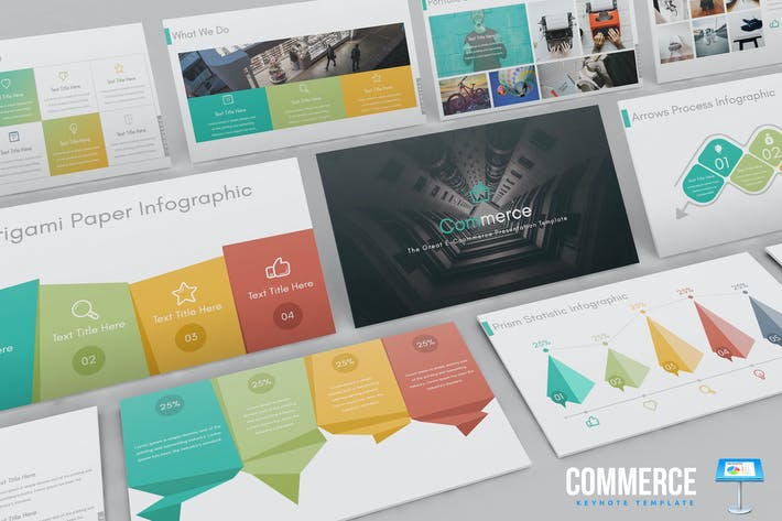 Thumbnail for Commerce Keynote Template