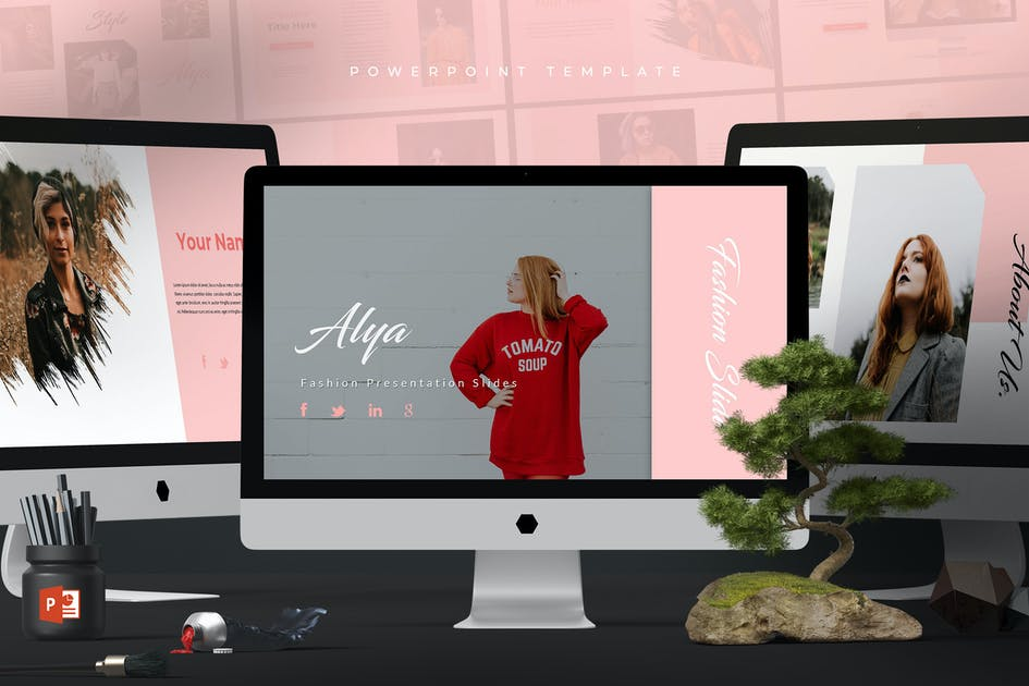 Alya Powerpoint Template By Aqrstudio On Envato Elements