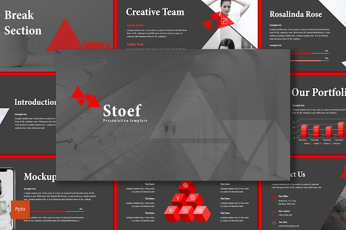 Cover Image For Stoef - Powerpoint Template