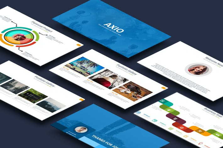 Thumbnail for Axio Powerpoint Template