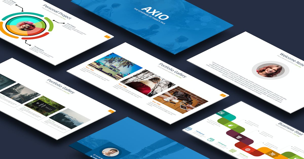 Download Axio Powerpoint Template by Unknow