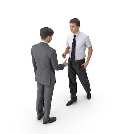 Бизнесмены рукопожатие