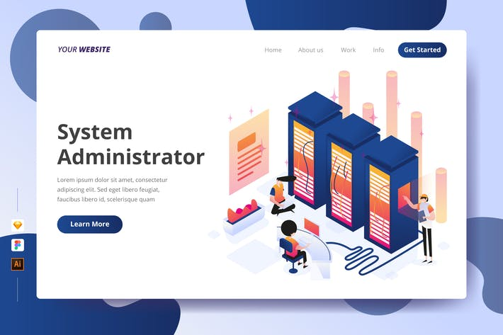 Thumbnail for System Administrator - Landing Page