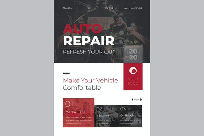 Thumbnail for Auto Repair Flyer