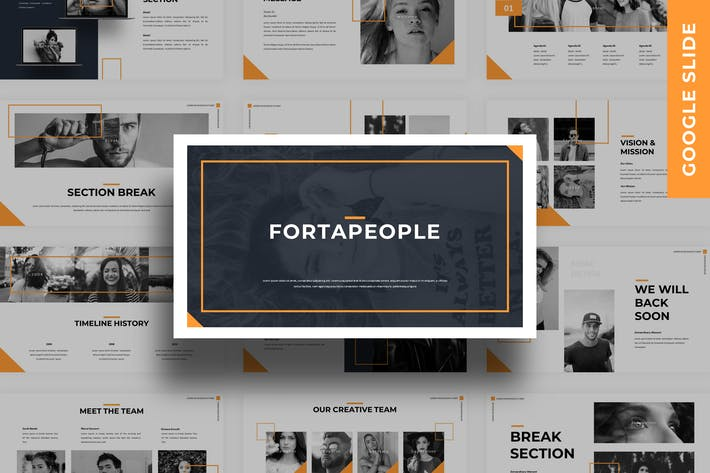 Thumbnail for Fortapeople - Business Google Slide Template