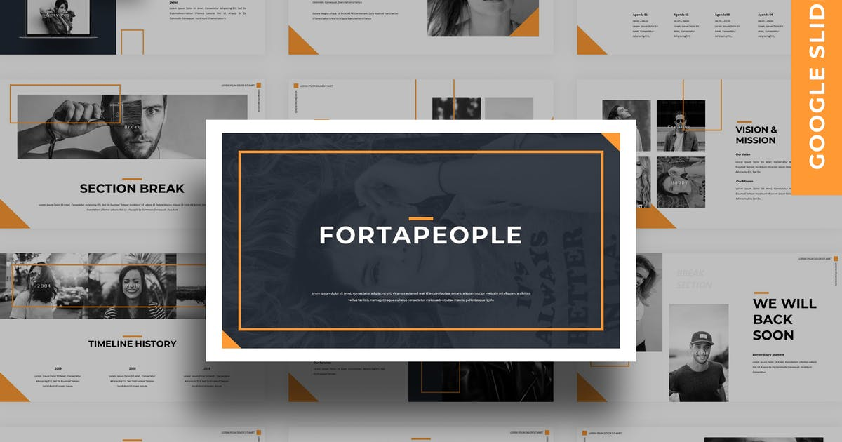 Download Fortapeople - Business Google Slide Template by 83des