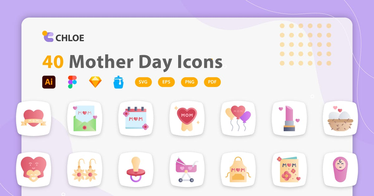 Download Chloe - Mother's Day icons by kerismaker