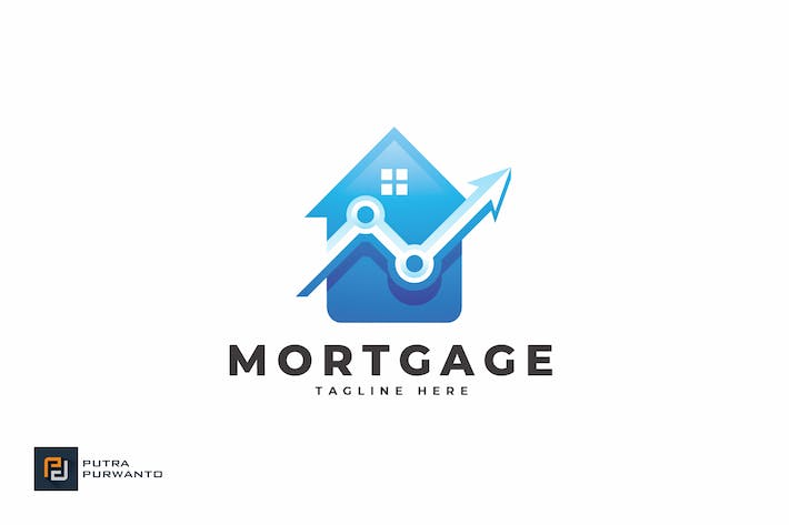 Thumbnail for Mortgage - Logo Template