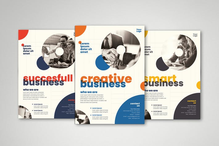 Thumbnail for Business Flyer Set