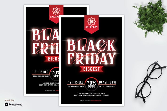 Thumbnail for Saleplay - Black Friday Promotion Flyer HR