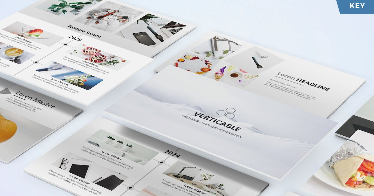 Download Verticable - Keynote Template by UnicodeID