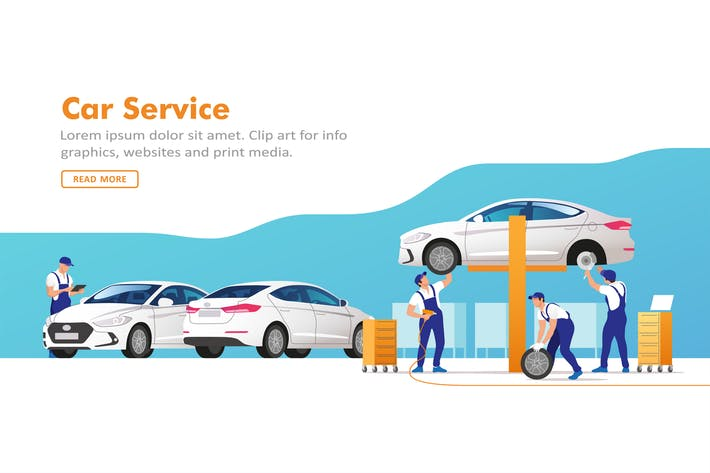 Cover Image For Car Service and Repair