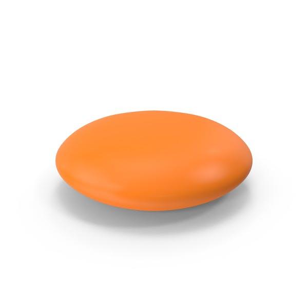 Circle Tablet Orange