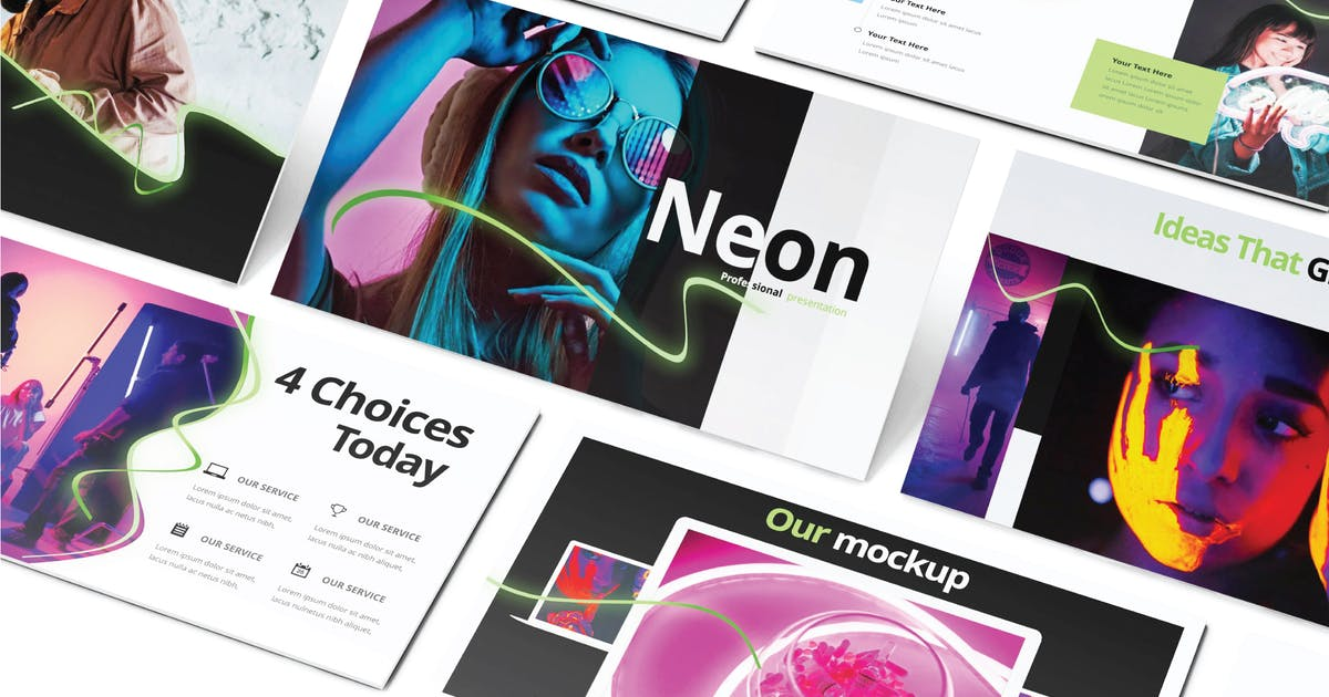 Download NEON - Powerpoint V604 by Shafura