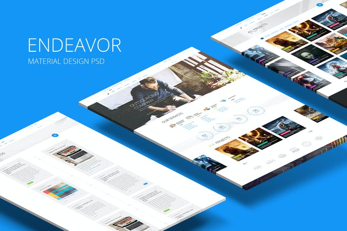 Thumbnail for Endeavor — Multipurpose IT/Digital Company PSD