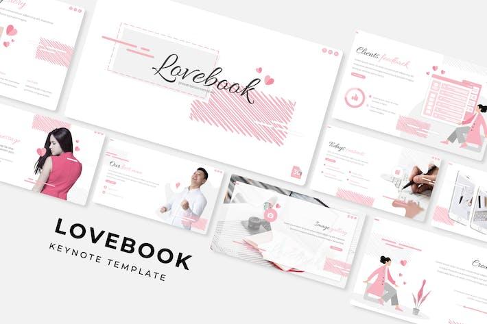 Thumbnail for Lovebook - Keynote Template