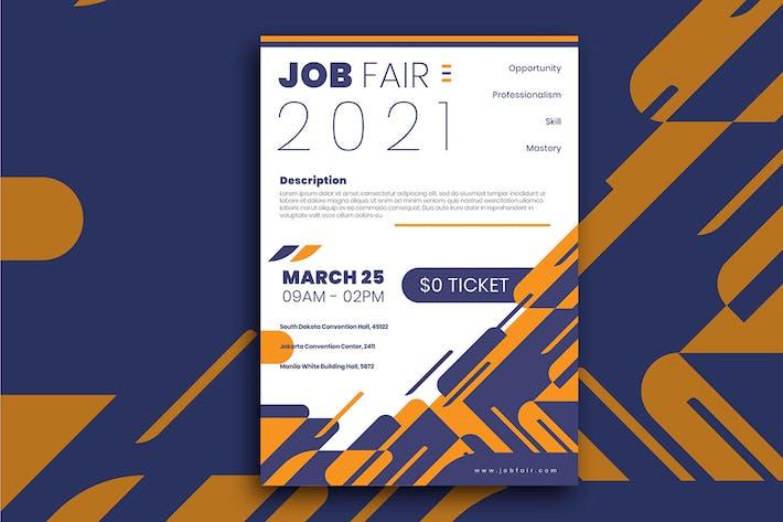 Thumbnail for Job Fair Flyer
