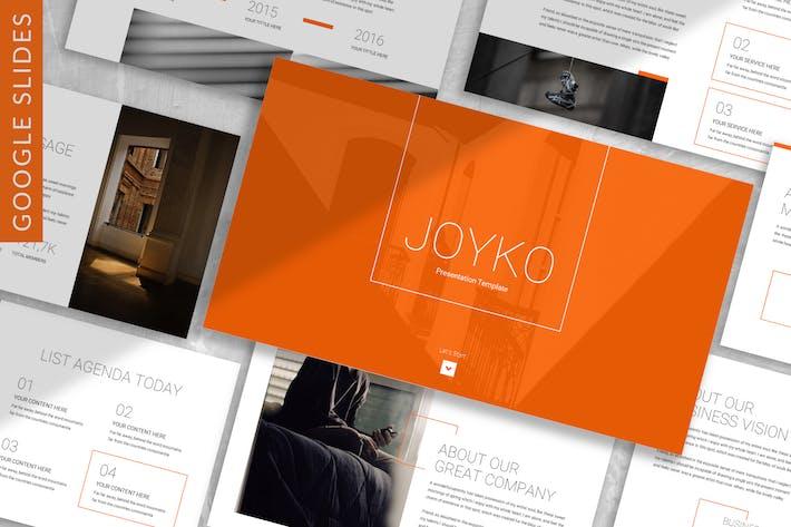 Thumbnail for Joyko - Business Google Slide Template