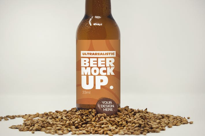 Thumbnail for Label & Cap Malt Mockup