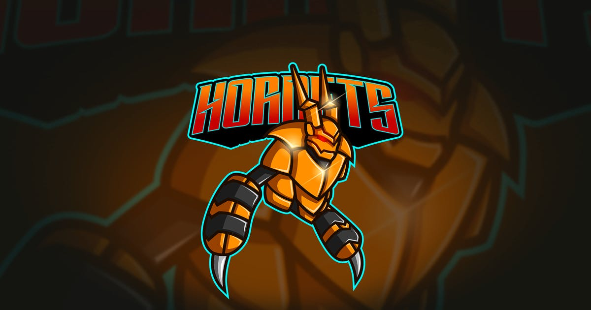 Download Hornet - Mascot & Esport Logo by aqrstudio