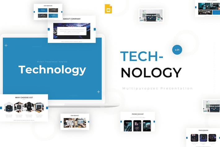 Thumbnail for Technology - Google Slides Template