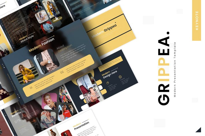 Thumbnail for Grippea - Keynote Template