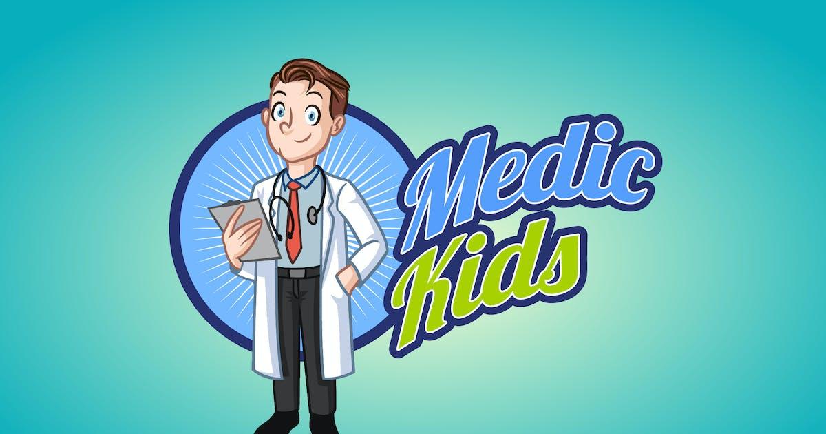 Download Medic Kids - Doctor Boy Mascot Logo by Suhandi