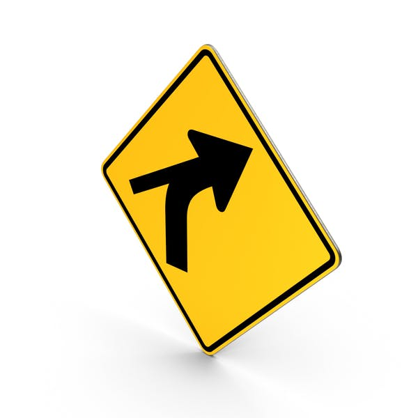 Curve Out Intersection Sign