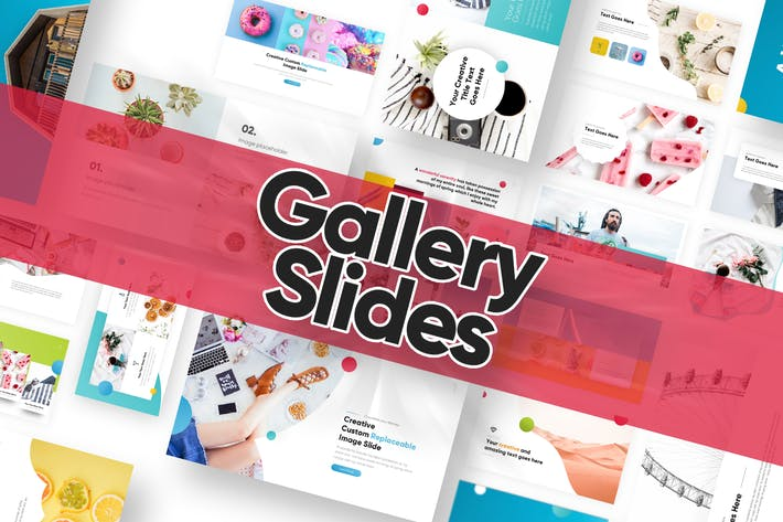 Thumbnail for Gallery Slide Powerpoint Template